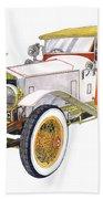 1914 Rolls Royce Silver Ghost Beach Sheet