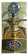 1917 Owen Magnetic M-25 Hood Ornament 2 Beach Towel