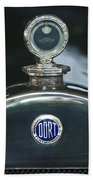 1923 Dort Sport Hood Ornament Beach Towel