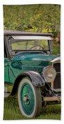 1923 Studebaker Big Six Touring Car Beach Towel