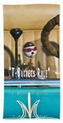 1925 T-bucket Rules Beach Towel