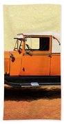 1928 Classic Ford Model A Roadster Beach Towel