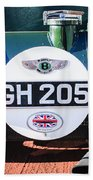1930 Bentley Speed Six Taillights -0277c Beach Towel