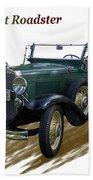 1931 Chevrolet Antique Roadster Beach Towel