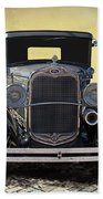 1931 Ford Model A Coupe Beach Towel