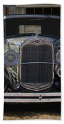 1931 Ford Model A Roadster Beach Towel