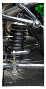 1931 Ford Roadster Suspension Beach Towel