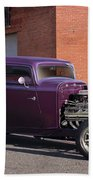 1932 Ford 'grape Soda' Coupe Beach Towel