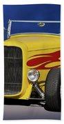 1932 Ford Roadster 'hiboy' Beach Towel