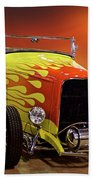 1932 Ford 'sunset' Studio' Roadster Beach Towel