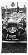 1932 Ford V8 July 4th Parade Tucson Arizona 1986 Beach Towel