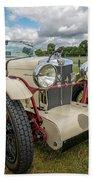 1933 Mg Sports Car Beach Towel