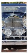 1933 Packard 12 Convertible Coupe Beach Towel