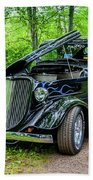 1934 Ford 3 Window Coupe Beach Sheet