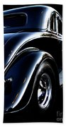 1934 Ford Coupe Rear Beach Towel