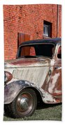 1934 Ford 'patina Plus' Coupe Beach Towel