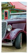 1934 Ford Roadster Hot Rod Beach Towel
