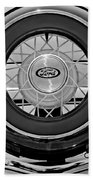 1934 Ford Roadster Spare Tire 2 Beach Towel