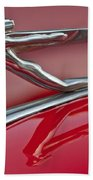 1935 Auburn Hood Ornament 2 Beach Towel