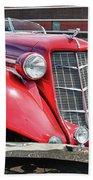1935 Auburn Speedster 6870 Beach Towel