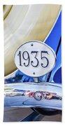 1935 Colour Beach Towel by Gary Gillette