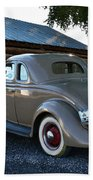 1935 Ford Coupe Beach Towel