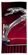 1936 Ford 68 Pickup Hood Ornament Beach Sheet