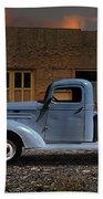 1937 Chevy Pickup Truck Beach Towel