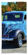 1937 Chevy Truck Beach Towel
