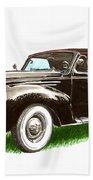 1937 Lincoln Zephyer Beach Towel