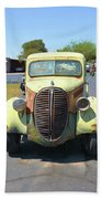 1938 Ford Truck Beach Towel