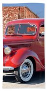 1939 Ford 'stake Bed' Pickup Truck I Beach Towel