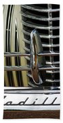1940 Cadillac 60 Special Sedan Grille Beach Towel