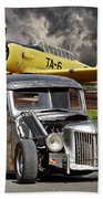 1940 Ford Rat Rod Pickup IIi Beach Towel