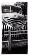 1940's Chevrolet Truck Beach Towel