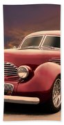 1941 Hollywood Graham Sedan I Beach Towel
