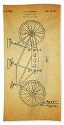 1945 Schwinn Tandem Bicycle Beach Towel