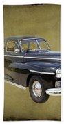 1946 Dodge D24c Sedan Beach Towel
