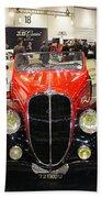 1947 Delahaye 135m Letourner Et Marchand Cabriolet Beach Towel
