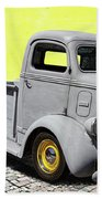 1947 Ford Cab Over Engine Truck Beach Towel