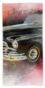 1947 Pontiac Convertible Photograph 5544.08 Beach Towel