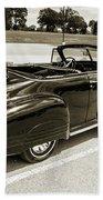 1947 Pontiac Convertible Photograph 5544.64 Beach Towel