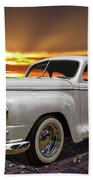 1948 Plymouth Two Door Coupe Beach Towel