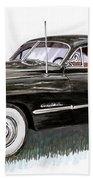 1949 Cadillac Sedanette Beach Towel
