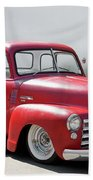 1950 Chevrolet 3100 Pickup 'show Low' II Beach Towel