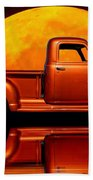 1950 Chevy Pickup Poster Beach Sheet