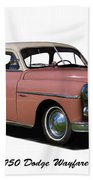 1950 Dodge Wayfarer 2 Door Sedan Beach Sheet