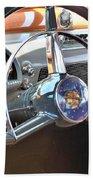 1950 Olds - Oldsmobile 88 Dashboard Beach Towel