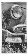1951 Chevrolet Power Glide Black And White 2 Beach Towel by Lisa Wooten