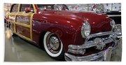 1951 Ford Woody Wagon Beach Towel